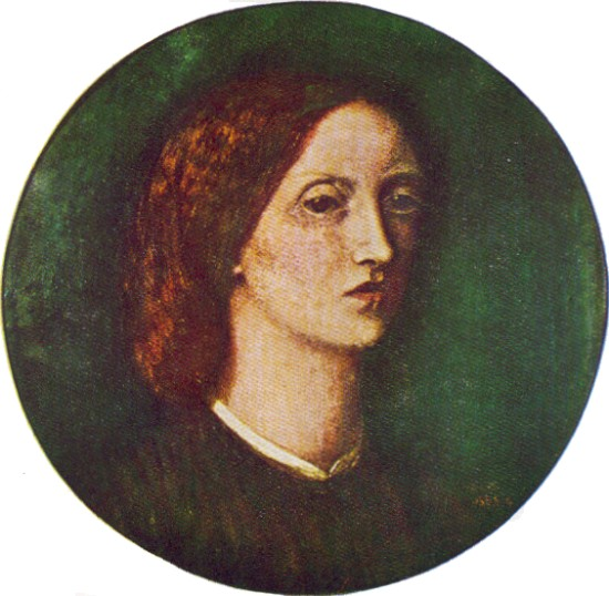 Elizabeth siddal self portrait in oil