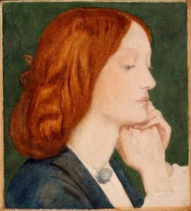 Lizzie Siddal Emerges from the Ghostly Mist