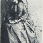 Elizabeth Siddal, dated December 1853