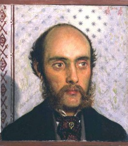 William Michael Rossetti, portrait by Ford Madox Brown