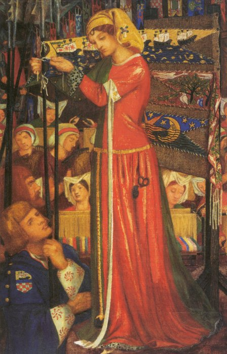 Rossetti, Before the Battle