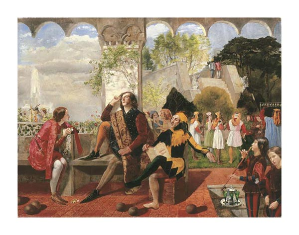 Twelfth Night, Walter Deverell