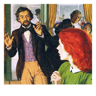 Rossetti discovers his perfect model, as seen in Look and Learn
