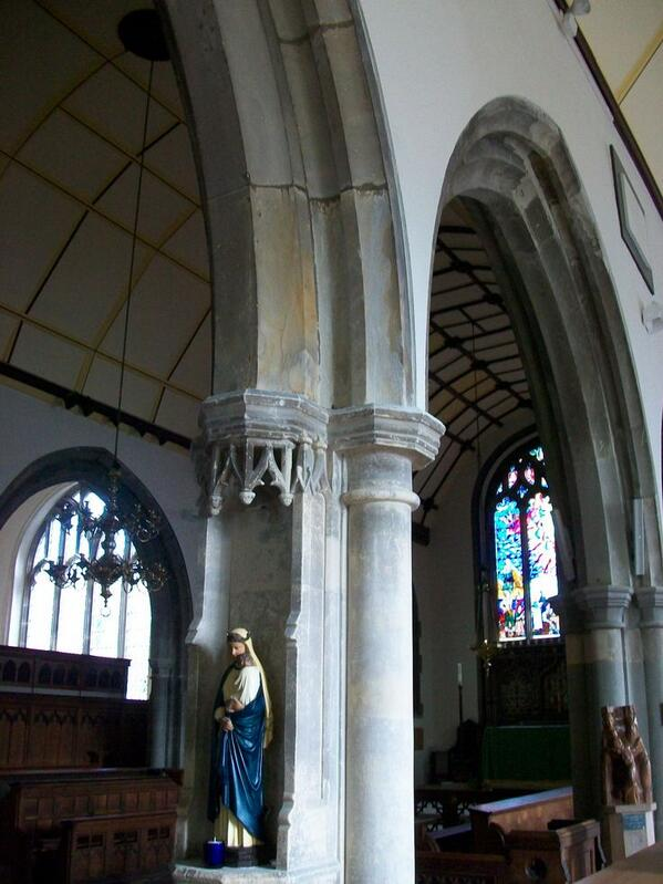 Interior of St Clement's Church. Photo Copyright Lynda Smith.