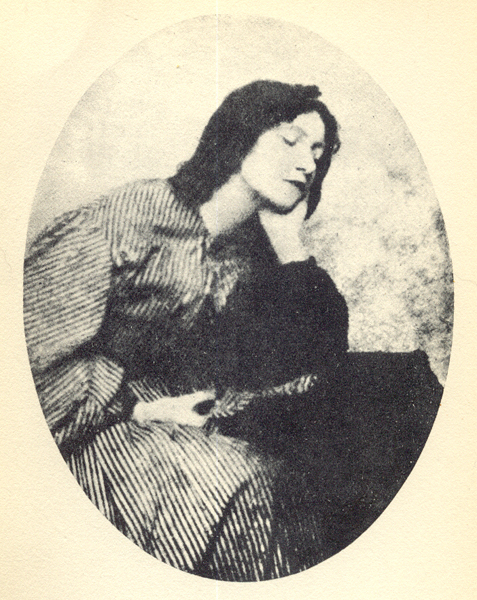 photograph of Lizzie Siddal